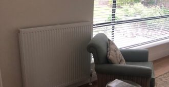 Biggs Flat Radiator Installation